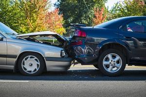 авария-столкновение двух автомобилей