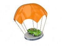 страхование автомобиля-машина на парашюте