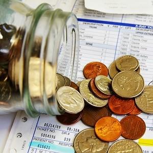 монеты из банки-страховые выплаты по счетам
