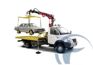 столкновение грузовика с прицепом и легкового авто