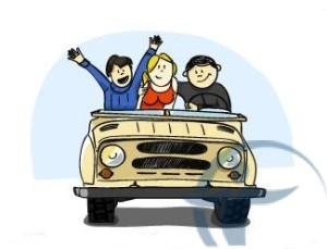 рисованные человечки в авто
