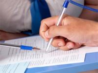 заполнение анкеты в регистратуре