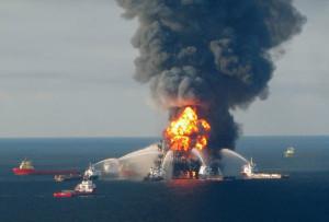 Страховой случай на нефтедобывающей платформе