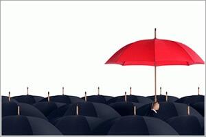 зонт над зонтами