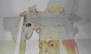 мокрый потолок в квартире